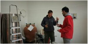 Km Zero Tours wine experience in Tuscany discovering small wine producers of Chianti - Bio wine