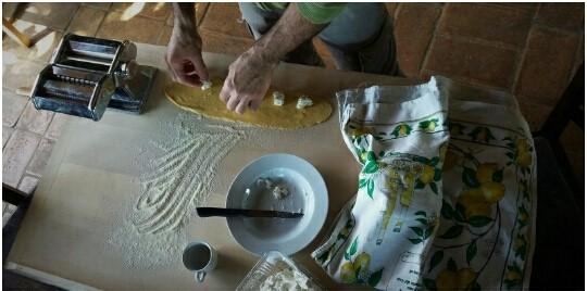 Homemade Ravioli with Km Zero Tours Slow Travel Tuscany
