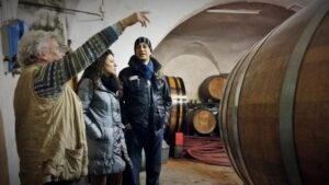 Visit an historical Chianti Classico winery during the tipsy Tuscany experience Km Zero Tours Slow Travel Tuscany 720x405
