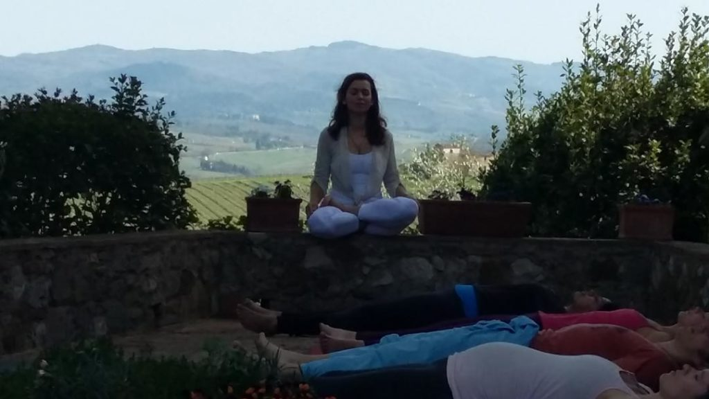 Km Zero Tours Slow Travel Tuscany yoga experience in Chianti